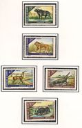 DAHOMEY Scott 245-249*, 252-256** Yvert  265-274 (10) * Et ** Cote 24,40$ 1968-9 - Bénin – Dahomey (1960-...)