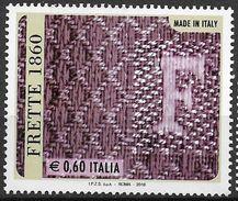 "2010 Italien Mi. 3418 **MNH   In Jacquard-Technik Gewebter Stoff Mit Initiale ""F"" Der Firma Frette, Concorezzo - 2001-10:  Nuevos"