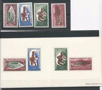 DAHOMEY Scott C85-C88, C88a Yvert  PA89-PA92, BF15 (4+bloc) ** Cote 9,50$ 1968 - Bénin – Dahomey (1960-...)