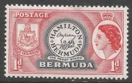 Bermuda. 1953-62 QEII. 1d MH. SG 136 - Bermuda