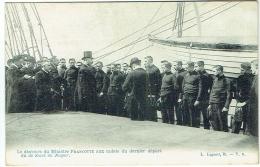 """Discours Du Ministre Francotte Aux Cadets Du Dernier Départ Du Voilier """"de Smet De Nayer"""". - Voiliers"""