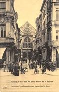 Antwerpen Anvers   Twaalf Maanden Straat Rue Des XII Mois , Entree De La Bourse          X 3225 - Antwerpen
