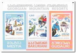 Georgië 2016, Postfris MNH, Mountain Resorts - Georgië