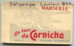 - Carnet De 16 Cartes Détachables - Marseille - Un Tour De Corniche, Plan, Texte, TBE, Scans. - Autres