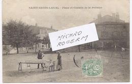 69. St GENIS LAVAL - La Place Avec Le MATELASSIER Et Le Chemin De La Perieire - 621117 - Autres Communes