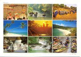 Thaïlande - Carte Multivues - Nº TE 2- 3086 - Tailandia