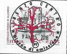 2016 Italien Mi. 3911 Used   Korallenschmuck Aus Alghero. - 2011-...: Usati