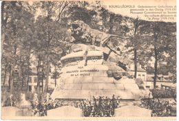 Bourg Léopold - CPA - Monument Commémoratif En Souvenir Des Vaillants Défenseurs De La Patrie - België