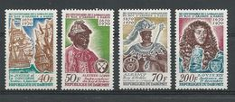 DAHOMEY Scott 271-274  Yvert  291-294  (4) ** Cote 6,50$ - Bénin – Dahomey (1960-...)