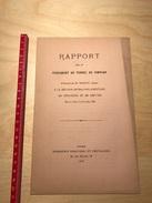 Rapport Sur Le Percement Du Tunnel Du Simplon Par M. Wilson Le 25 Juillet 1879 - Chemin De Fer - Bahn - Ferrovie - Documents Historiques