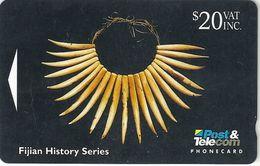 Fiji - Articrafts - Necklace - 06FJE - 20$, 1994, 15.000ex, Used - Fiji