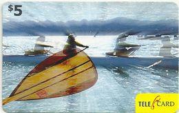 Fiji - Rowing - 2006, Remote Mem, 5$, Used - Fiji