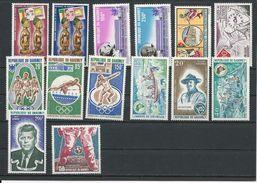 DAHOMEY Scott 285-6, 311, C157-8-62-3-4-5-82-3-4-91-208  Yvert  305-6-32, PA163-4-5-6-7-8-85-6-7-94-12 (14) * Cote19,50$ - Bénin – Dahomey (1960-...)