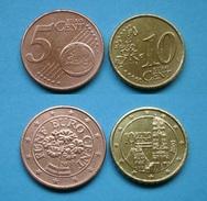 Österreich 5 - 10 Euro Cent 2003,2002       (R307) - Austria