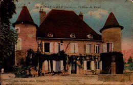 Isère - St André Le Gaz - Château De Verel - Saint-André-le-Gaz
