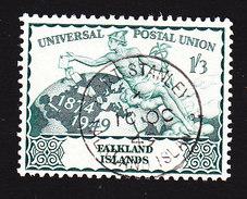 Falkland Islands, Scott #105, Used, UPU, Issued 1949 - Falkland Islands