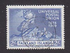 Falkland Islands, Scott #106, Used, UPU, Issued 1949 - Falkland Islands