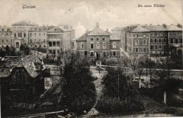 Giessen, Die Neuen Kliniken, 1907 Von Giessen Nach Hamburg Versandt - Giessen