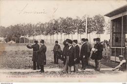 Contréxeville - S. M. Le Schah De Perse Au Tir Aux Pigeons - Vittel Contrexeville
