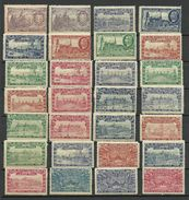 France 1900 EXPOSITION UNIVERSELLE Paris 28 Stamps MNH/MH - 1900 – Paris (France)