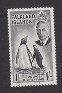 Falkland Islands, Scott #115, Used, George V And Scenes And Industry Of Falkland Islands, Issued 1952 - Falkland Islands
