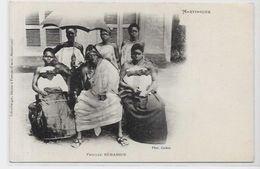 CPA Dahomey Béhanzin Non Circulé Martinique - Dahomey