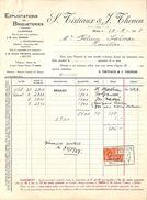 Briqueteries Tirtiaux & Thonon, Mettet 1927, Timbre - Belgique