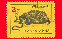 Nuovo - Oblit. - BULGARIA - 1963 - Animali - Riccio - Serpente - Erinaceus Europaeus - Snake - 2 - Bulgaria