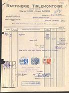 Raffinerie Tirlemontoise, Siège De Wanze, 1937 Timbres - Belgique