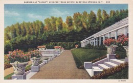 New York Saratoga Springs Gardens At Yaddo Spencer Trask Estate