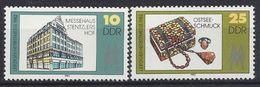 Germany (DDR) 1982  Leipziger Herbstmesse (**) MNH  Mi. 2733-2734 - [6] République Démocratique