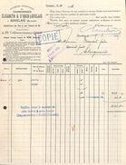 SA Des Charbonnages Elisabeth & St Roch-Auvelais à Auvelais 1925 - Belgique