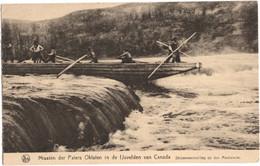 Missiën Der Paters Oblaten In De Ijsvelden Van Canada - Stroomversnelling Op Den Mackenzie - Sin Clasificación