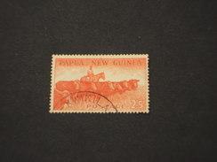 PAPUA E NUOVA G. - 1958/64 BOVINI  2/5 - TIMBRATO/USED - Papua Nuova Guinea