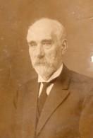 Homme Norvegien Ou Danois? Portrait & Lettre Transport Maritime? Ancienne Photo Amateur 1933 - Photographs