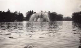 Paris Exposition Coloniale Lac Daumesnil Théâtre D'Eau Fontaine Ancienne Photo Amateur 1931 - Places