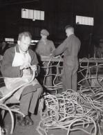 San Francisco Port Of Embarkation Fort Mason Fabrication De Cordes Ancienne Photo Signal Corps 1945 - Guerre, Militaire