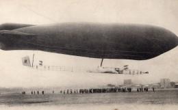 France Aviation Dirigeable Astra Ville De Bruxelles Surcouf Ancienne Carte Postale CPA 1910 - Airships
