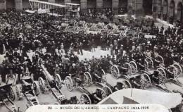 Paris Musee De L'Armee Trophees De Guerre Avion Canons Ancienne Carte Postale CPA 1920 - War 1914-18