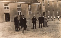 Allemagne Berlin Spandau Groupe Ecole? Ancienne Carte Photo Reinelt 1921 - Places