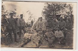 CPA ALLEMANDE-  Militaires Soldats Allemand Au Repos Tente  (guerre14-18)TBE - War 1914-18
