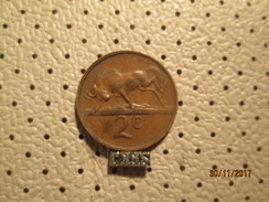 SOUTH AFRICA 2 Cents 1971 # 4 - Zuid-Afrika