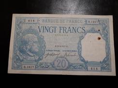 20 Fr Bayard Du 13/04/1917 Bon état - 1871-1952 Circulated During XXth