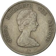 Etats Des Caraibes Orientales, Elizabeth II, 25 Cents, 1996, TTB, Copper-nickel - Caraïbes Orientales (Etats Des)
