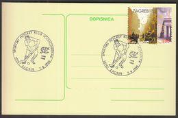 Croatia Zagreb 1996 / Field Hockey / 90th Anniversary Of The Sport Hockey Club Concordia - Rasenhockey