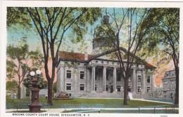 New York Binghamton Broome County Court House Curteich