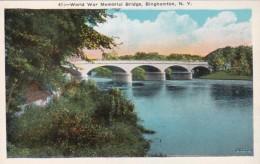 New York Binghamton World War Memorial Bridge