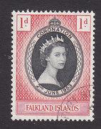 Falkland Islands, Scott #121, Used, Coronation, Issued 1953 - Falkland Islands