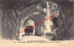 Les Grands Goulets - Le Car Alpin Du Syndicat Dans Les Tunnels - Le Vercors Pittoresque - Francia