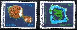 POLYNESIE. N°405-6 Oblitérés De 1992. Année Internationale De L'espace. - Space